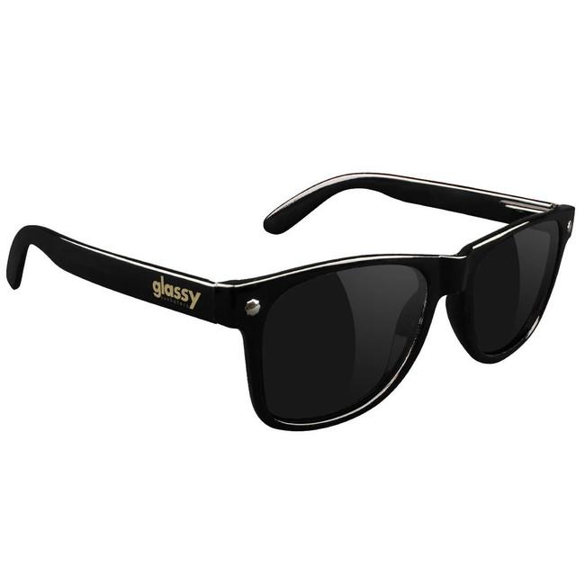 Glassy - Sunglasses - Leonard - Black
