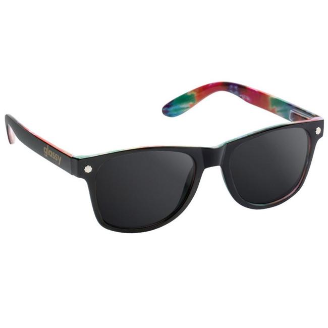 Glassy - Sunglasses - Leonard - Black/Tie Dye