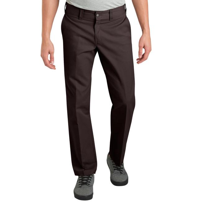Dickies - Pants - '67 Slim Straight Leg Flex - Dark Brown