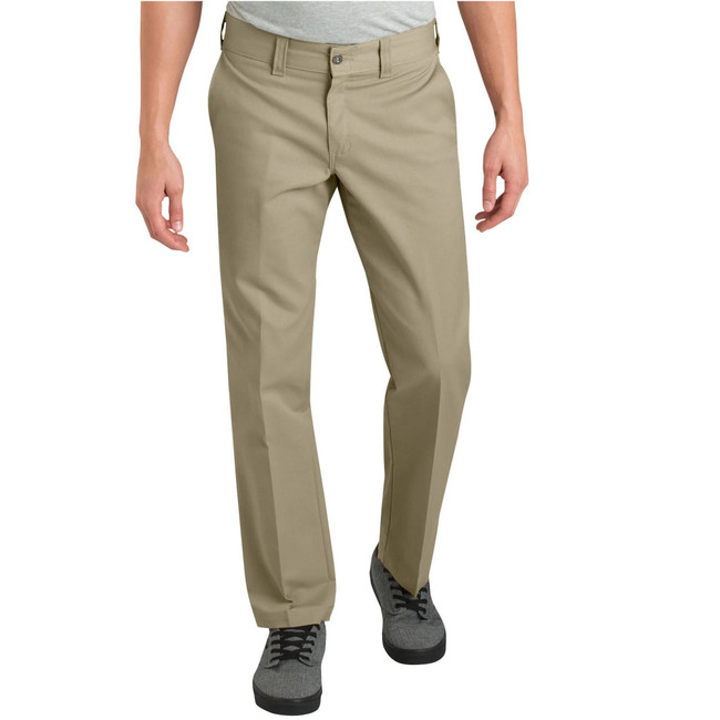 Dickies - Pants - '67 Slim Straight Leg Flex - Desert Khaki