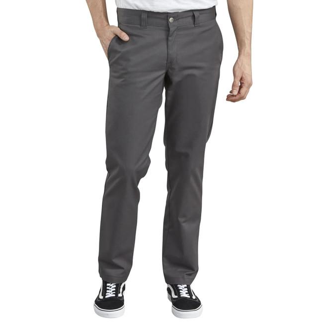 Dickies - Pants - '67 Slim Straight Fit Flex - Charcoal