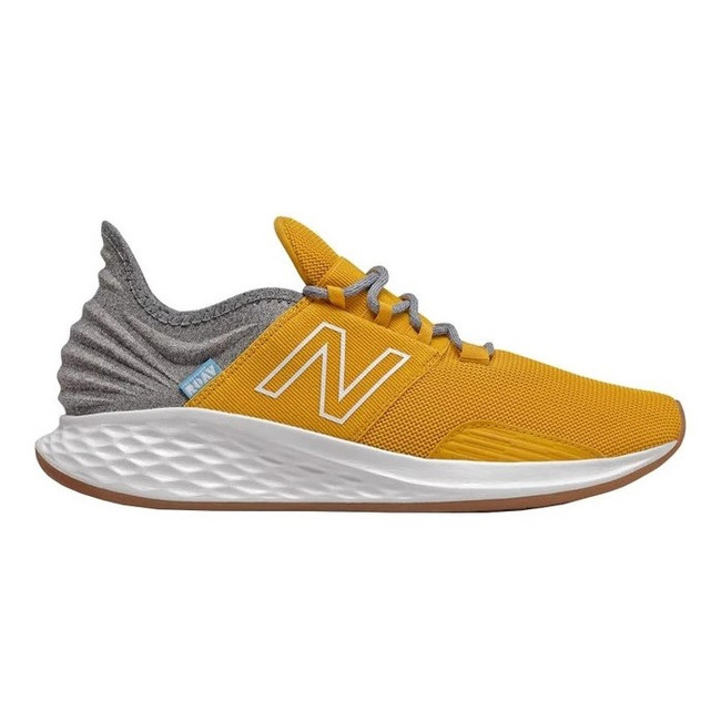 New Balance - Fresh Foam Roav T - Varsity Gold/Light Aluminum