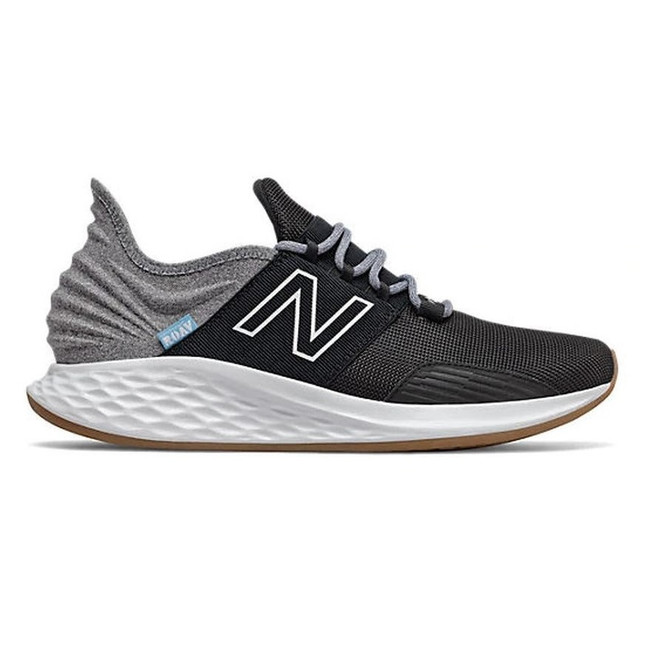 New Balance - Fresh Foam Roav T - Black/Light Aluminum