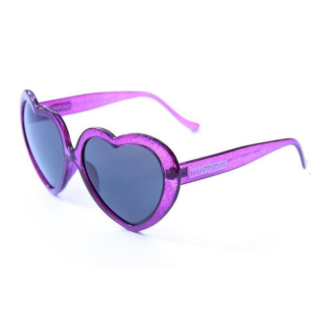 Happy Hour - Heart On - Purple Stardust