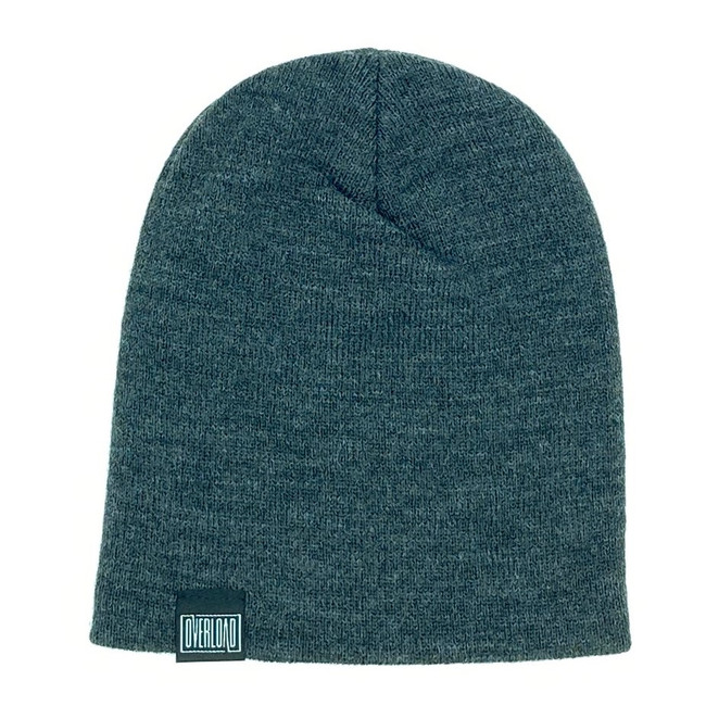 Overload - Beanie - Classic Knit - Charcoal