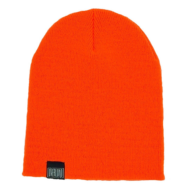 Overload - Beanie - Classic Knit - Safety Orange