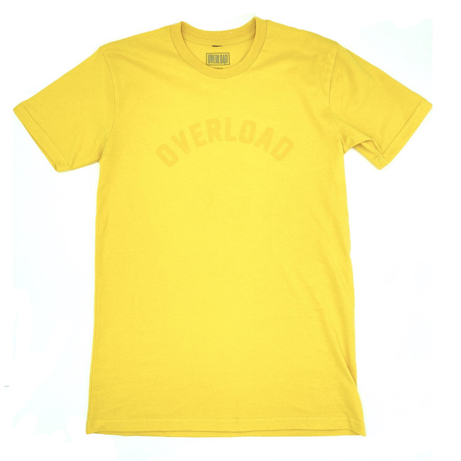 Overload - Arched Tee - Yellow/Yellow