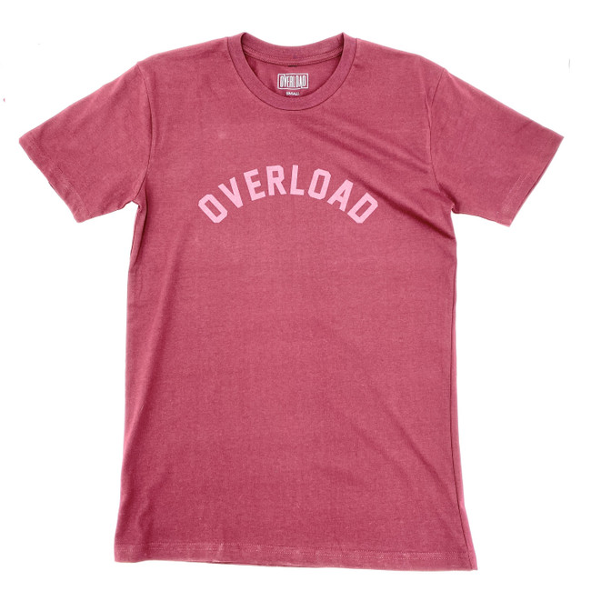 Overload - Arched Tee - Brgdy/Brgdy