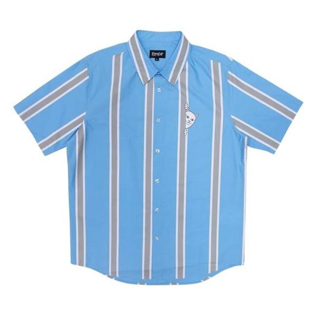 Rip N Dip - Peeking Nermal 2 - Shirt - Blue/Grey
