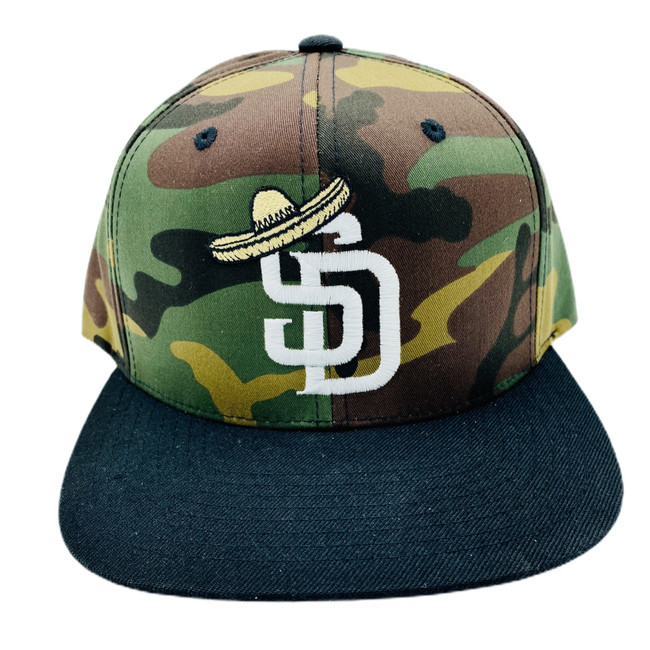 Overload - Camo/Black - Sombrero Logo - Snapback