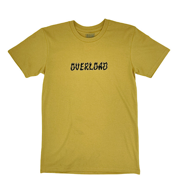 Overload - World On Fire - Mustard - Tee