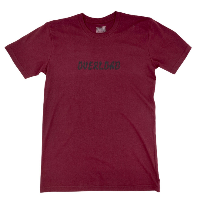 Overload - World On Fire - Burgundy - Tee