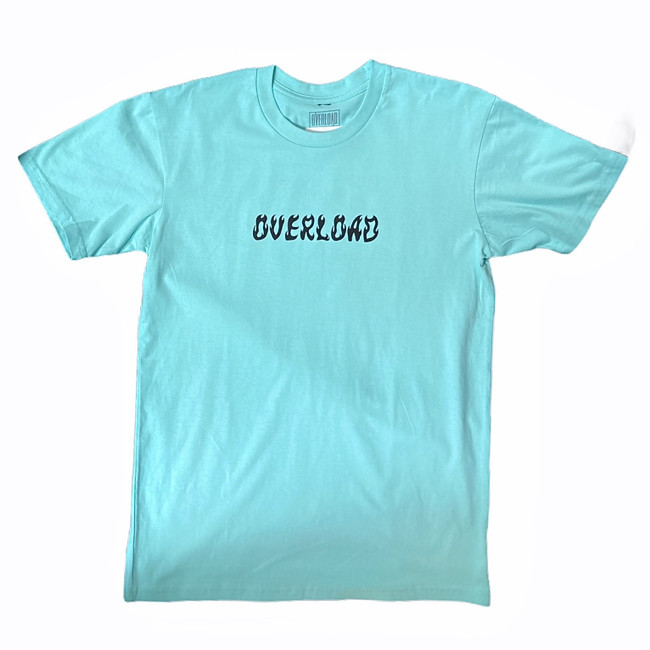 Overload - World On Fire - Aqua - Tee