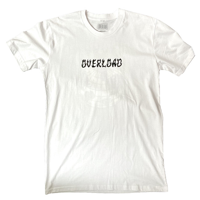 Overload - World On Fire - White - Tee