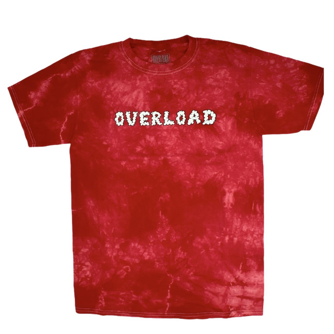 Overload - Smoked Out - Tee - Red / Tie Dye