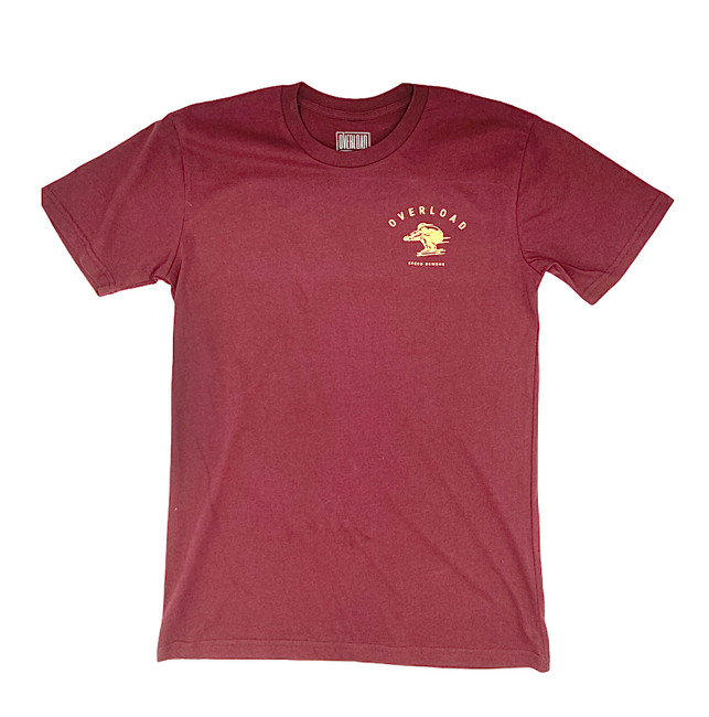 Overload - Speed Demons -Tee - Burgundy