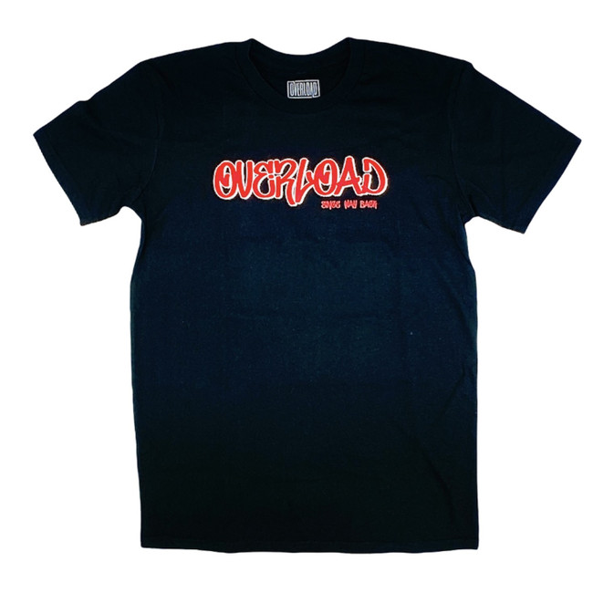 Overload - Tag Since Way Back - Black - Tee