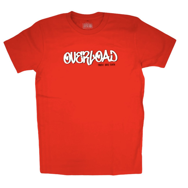 Overload - Tag Since Way Back - Red - Tee