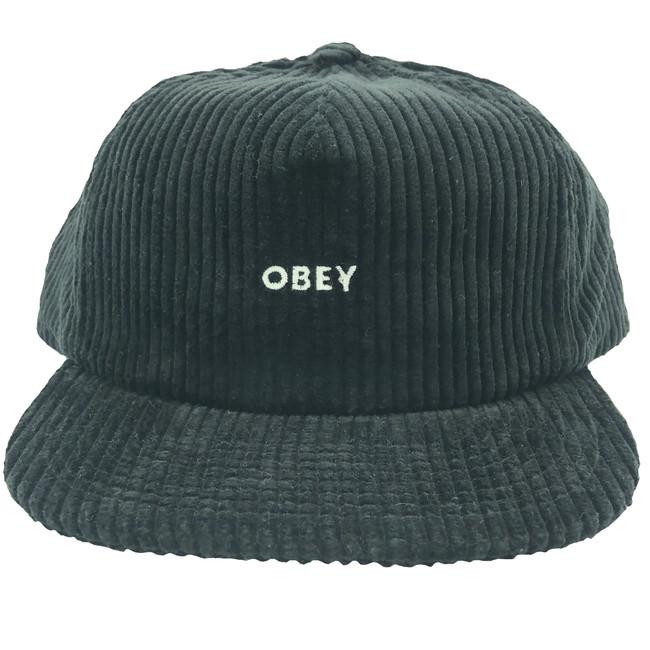 Obey - Bold Cord Strapback - Black