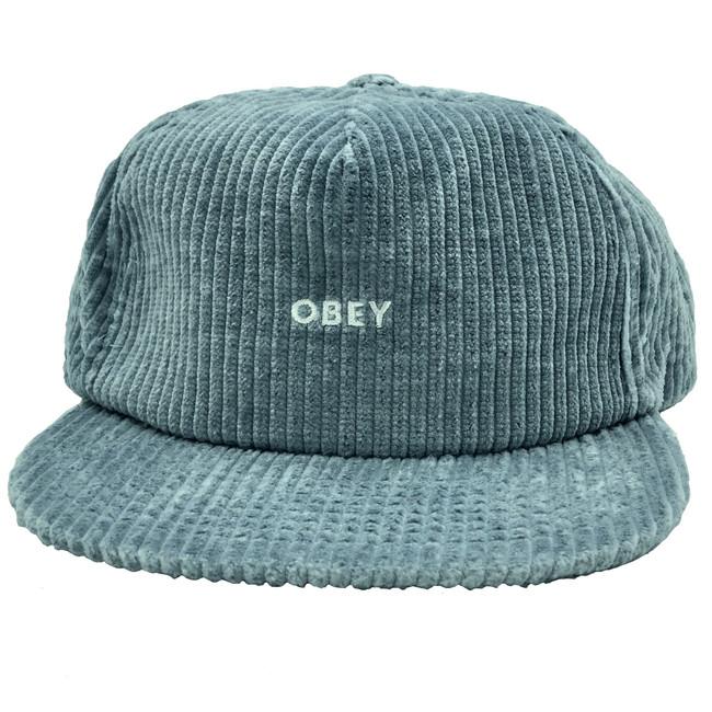 Obey - Bold Cord Strapback - Ice Blue