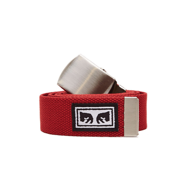 Obey - Big Boy Web Belt - Scarlet