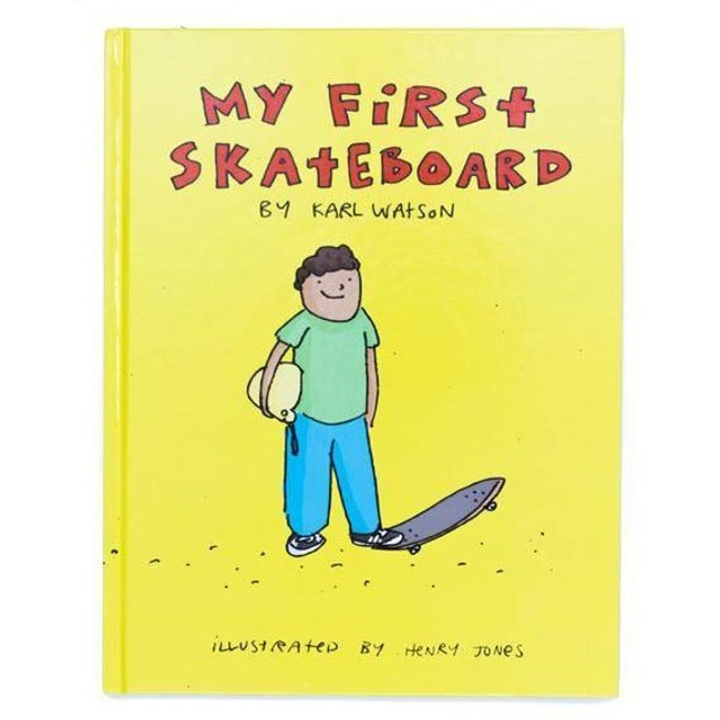 My First Skateboard - Book