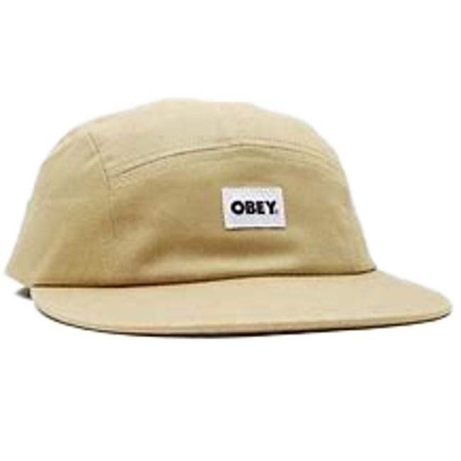 Obey - Bold Label Organic 5 Panel - Almond