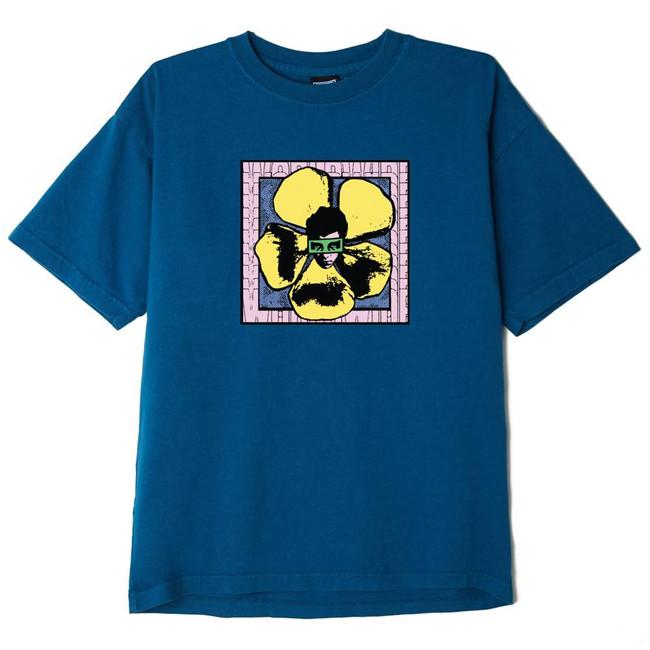 Obey - We Make The Flowers  Tee - Blue Sapphire