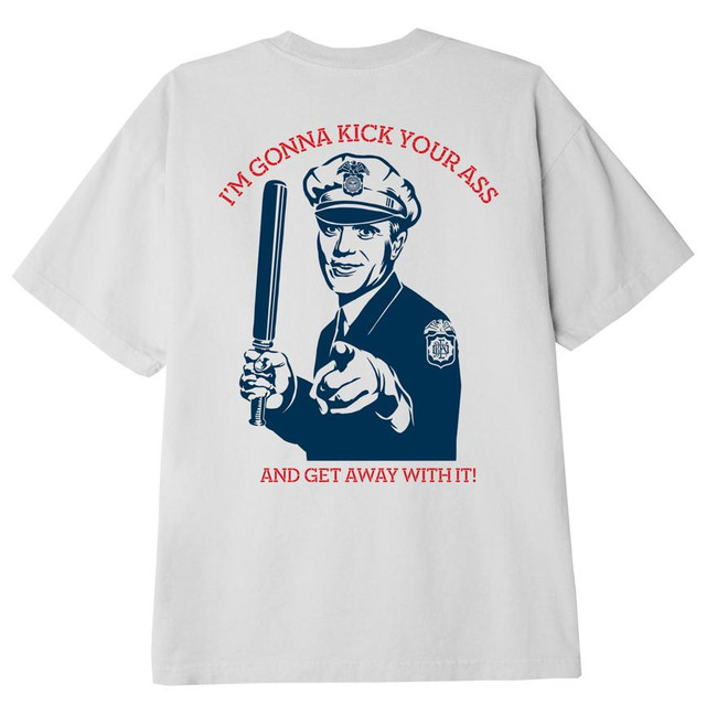 Obey - Kick Your Ass Cop Tee -