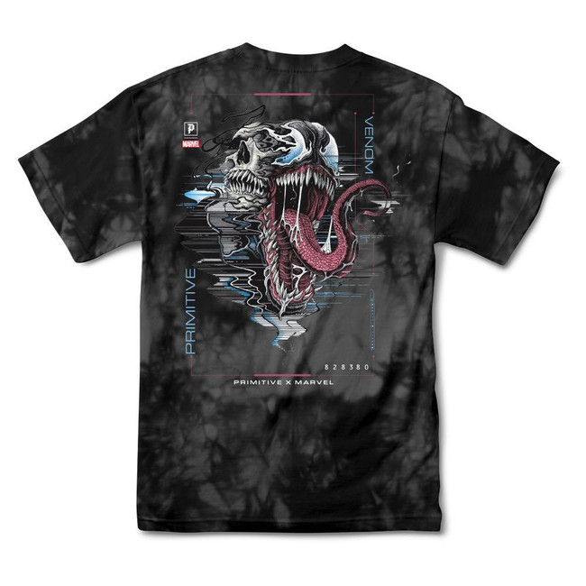Primitive - Marvel Venom Washed Tee - Black