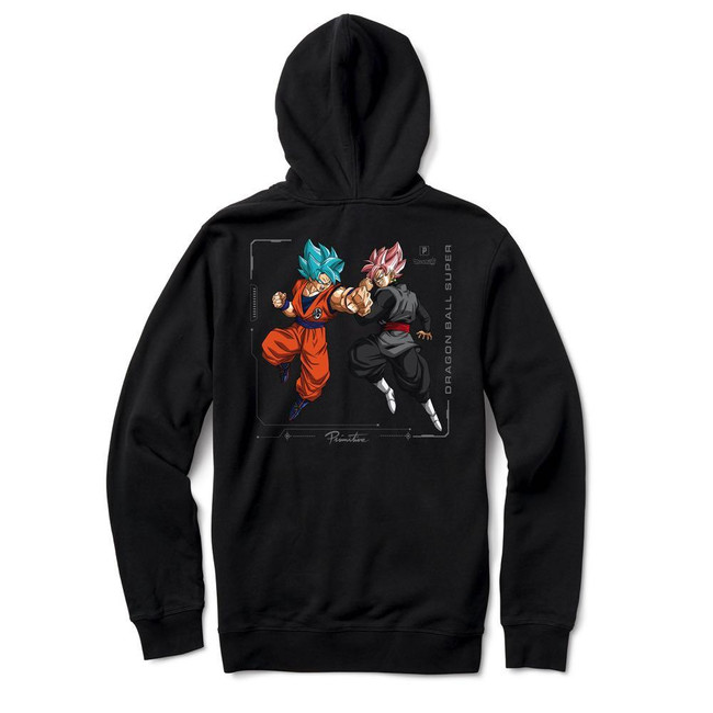 Primitive - Goku Versus Hoodie - Black