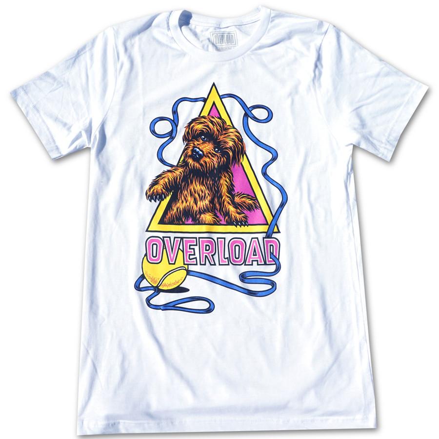 Overload - T-Shirt - Scruffy - White