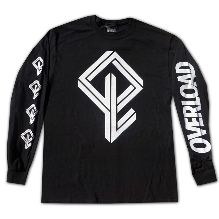 Overload - T-Shirt - BMX Bandit L/S - Black
