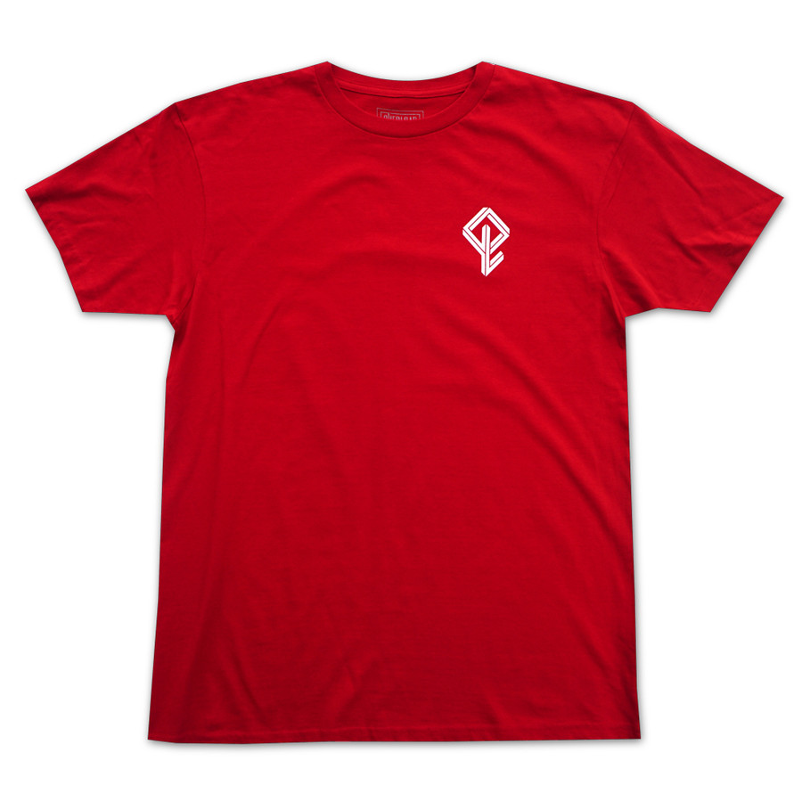 Overload - T-Shirt - Arched - Red