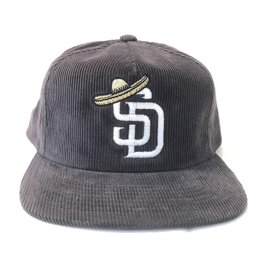 Overload - Hat - SD Sombrero Corduroy - Charcoal