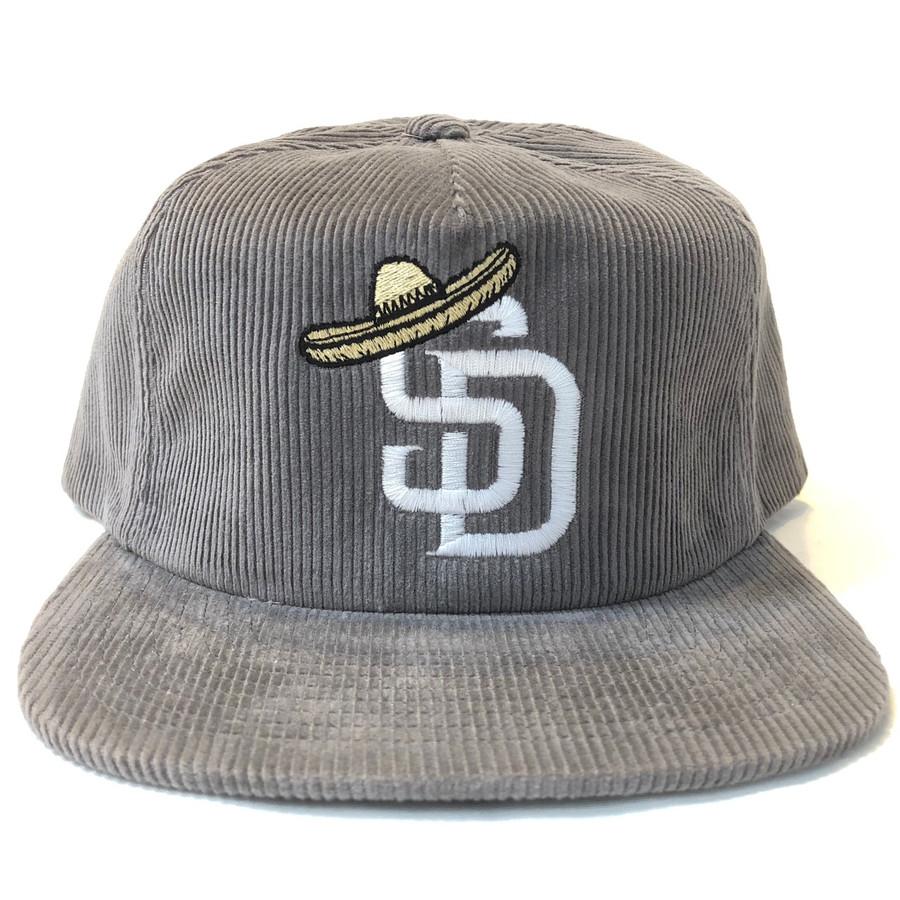 Overload - Hat - SD Sombrero Corduroy - Grey