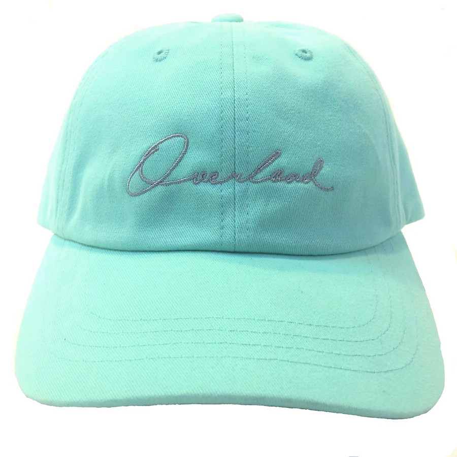 Overload - Hat - Script Unconstructed - Diamond Blue