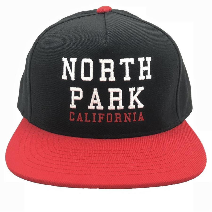 Overload - Hat - North Park - Black/Red