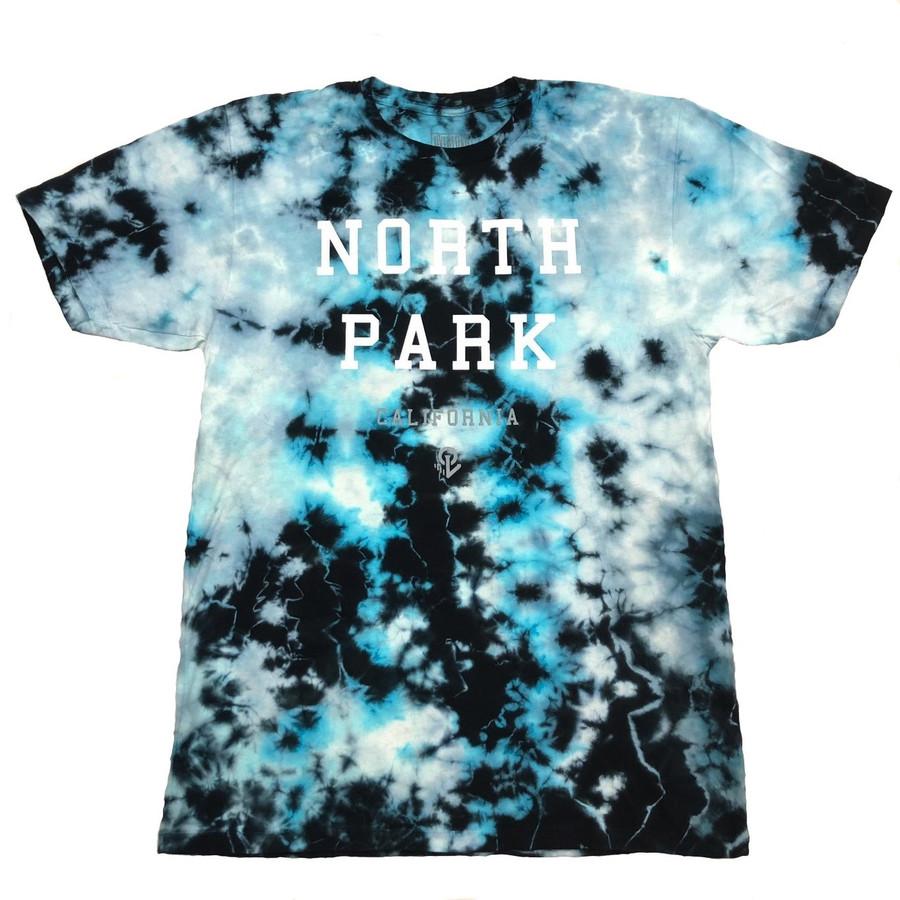 Overload - NorthPark Tie Dye Tee - Crystal Ocean