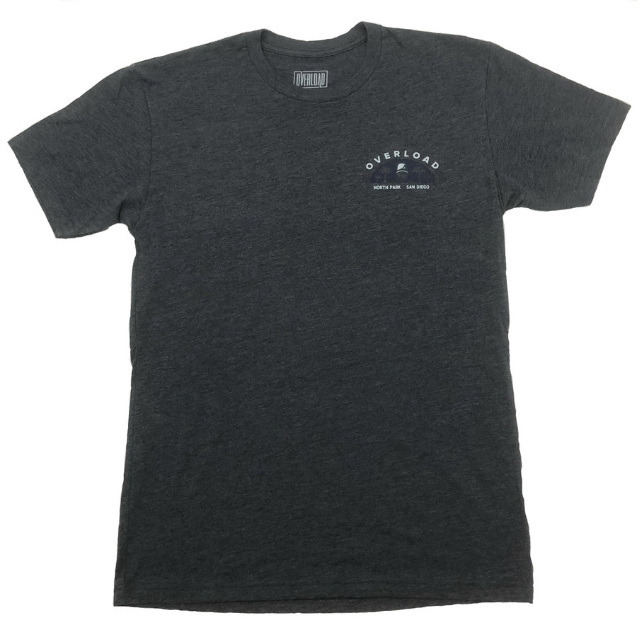 Overload - T-Shirt - Water Tower 2 - Charcoal/Navy