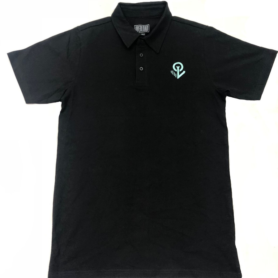 Overload - Polo - Anchor - Black