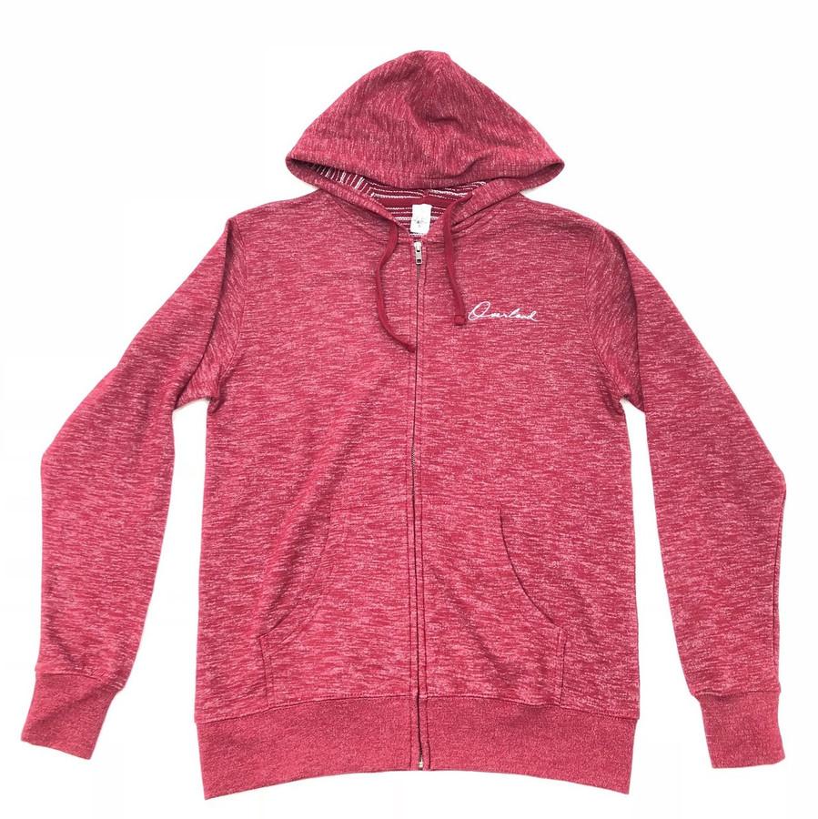 Overload - Sweatshirt - Script Baja Zip - Rojo Cardenal