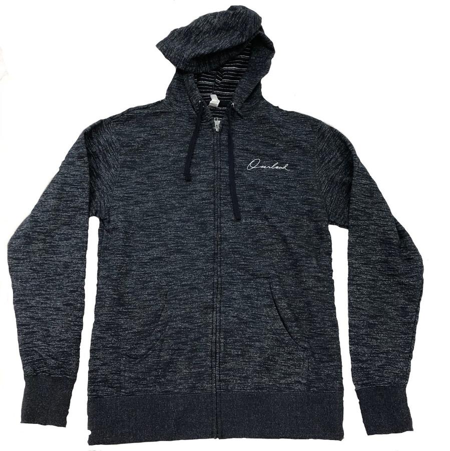 Overload - Sweatshirt - Script Baja Zip - Baja Black