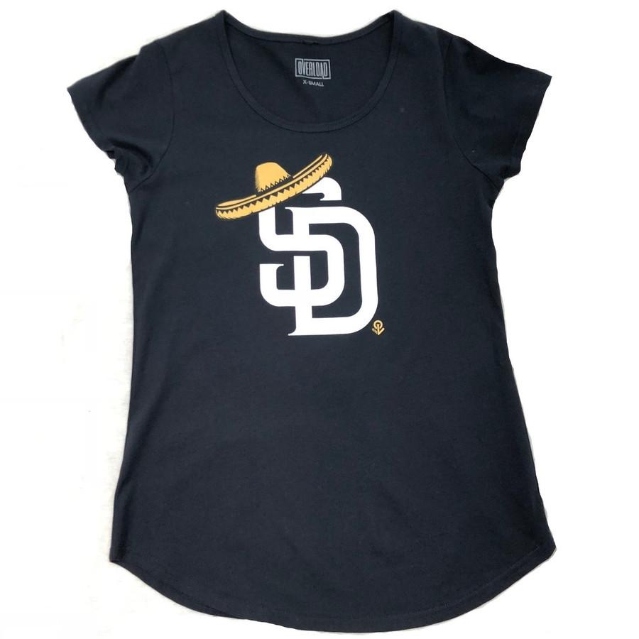 Overload - Women - T-Shirt - Sombrero - Navy
