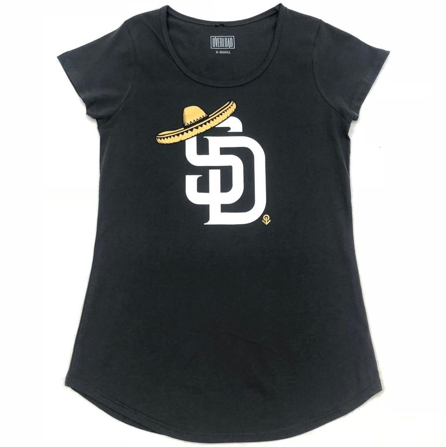 Overload - Women - T-Shirt - Sombrero - Coal