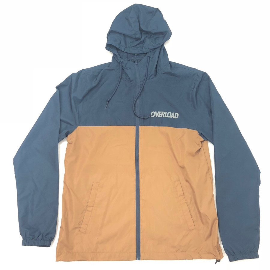 Overload - Windbreaker Zip Up - Navy Saddle