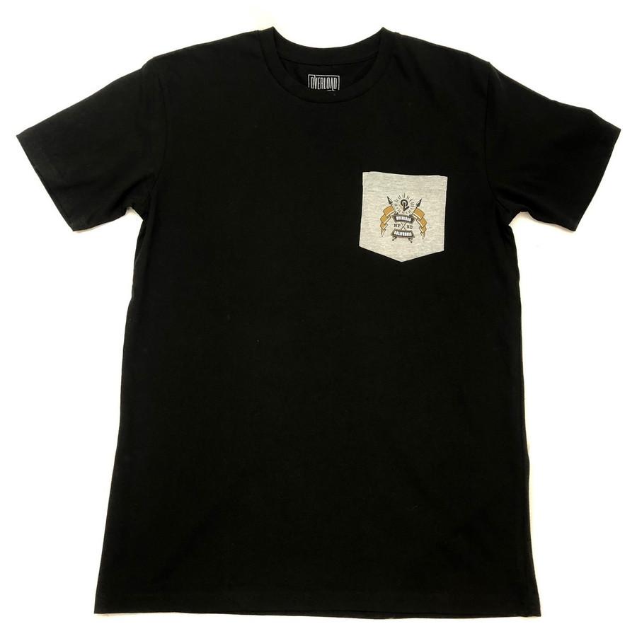 Overload - Crest Pocket - Black / Grey