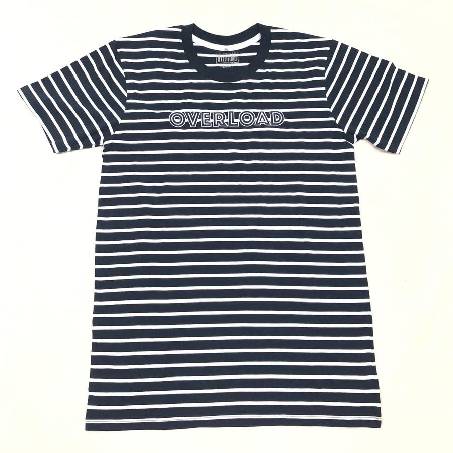 Overload - Linear Stripe - Navy / White