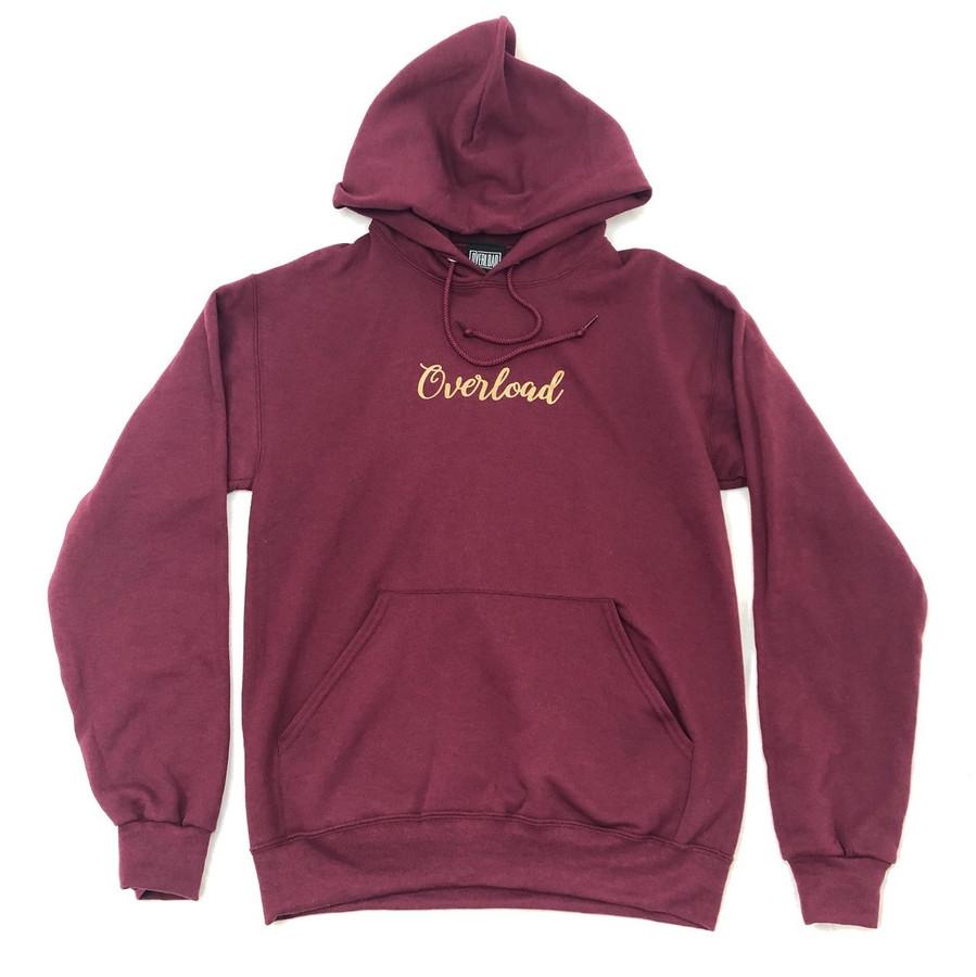 Overload - Sweatshirt - Chunk - Maroon