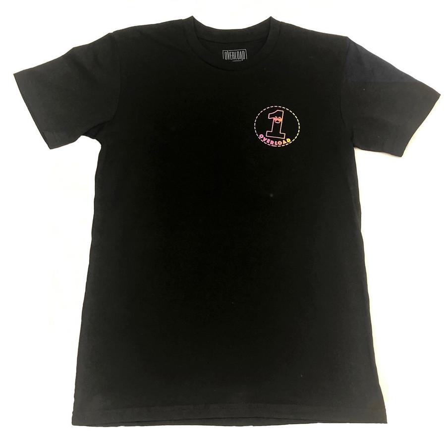 Overload - T-Shirt - Visual Malaise Glow - Black/Glow